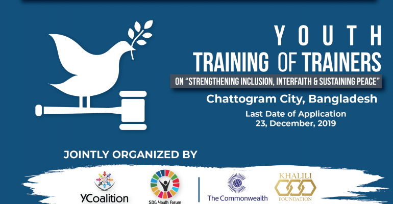 Youth Training of Trainers (TOT) in Chattogram